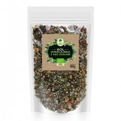 Sól himalajska z ziołami - uzupełniacz EKO 180g
