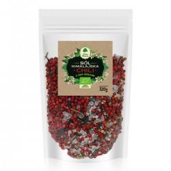 Sól himalajska z ziołami chilli - uzupełniacz EKO 320g