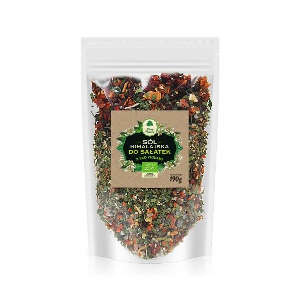 Sól himalajska z EKO ziołami do sałatek - uzupełniacz 190g