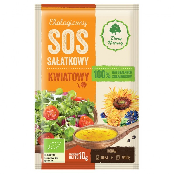 Sos sałatkowy - kwiatowy EKO 10g