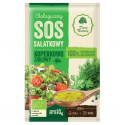 Sos sałatkowy koperkowo-ziołowy EKO 10g