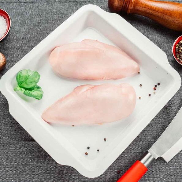 Filet z piersi z kurczaka z linii nadbiebrzańskiej