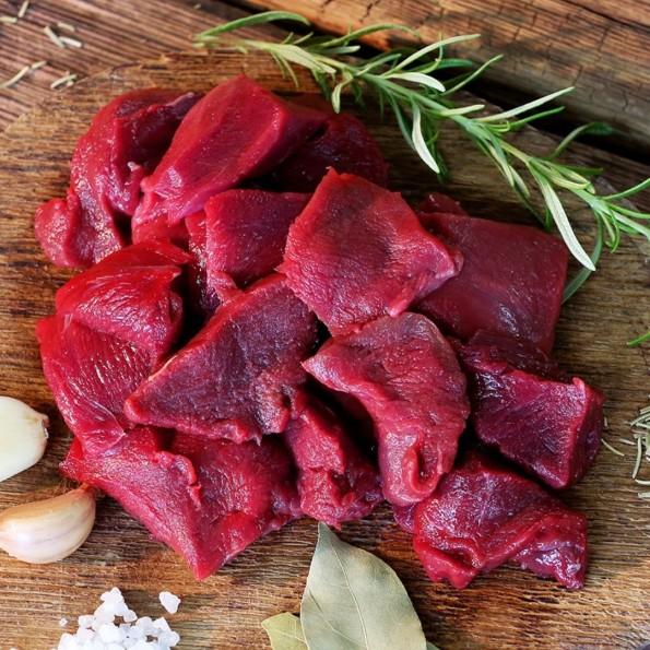 Mięso gulaszowe EXTRA z sarny