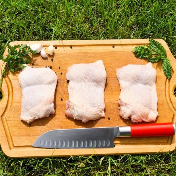 Stek z kurczaka nadbiebrzańskiego