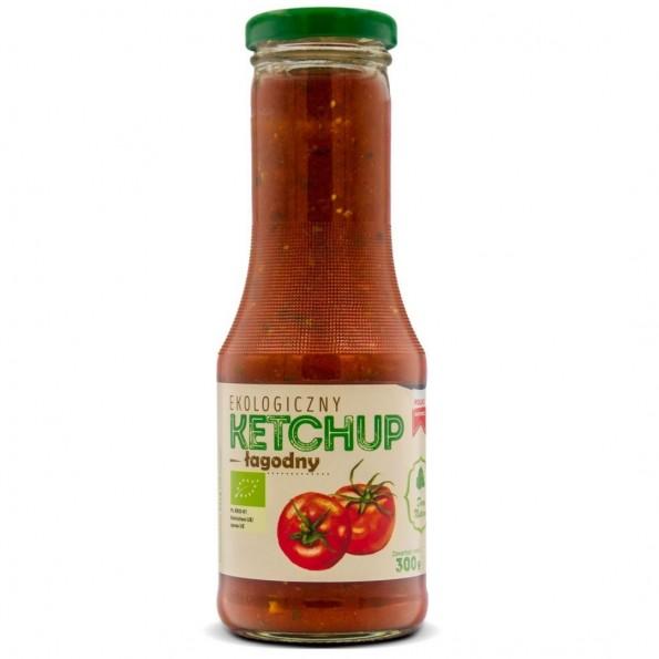 Ketchup pomidorowy łagodny EKO 300g