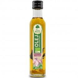 Olej czosnek bazylia EKO 0,25l