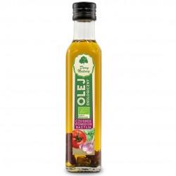 Olej czosnek pomidor bazylia EKO 0,25l