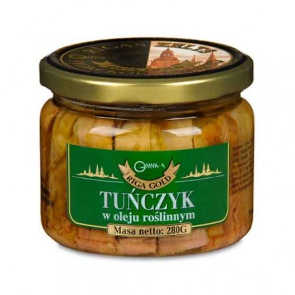 Tuńczyk w oleju roślinnym