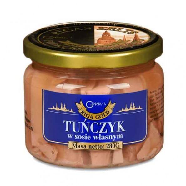 Tuńczyk w sosie własnym